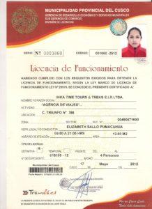 Municipalidad permiso.