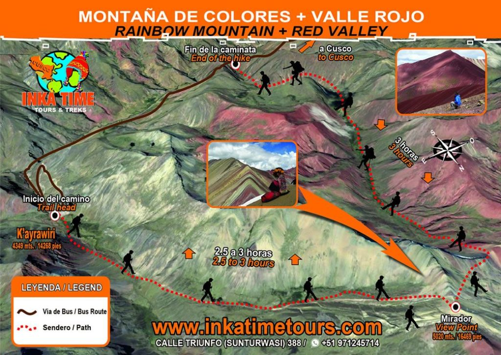hiking-rainbow-mountain-vinicunca-red-valley-map