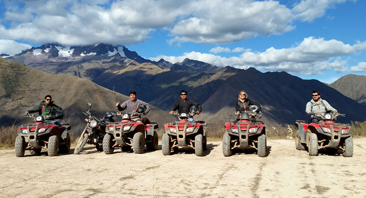 Quad Bike Atv tour by Maras Moray Salt mines