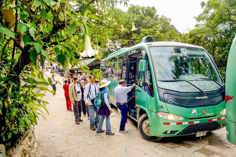 machu picchu by bus